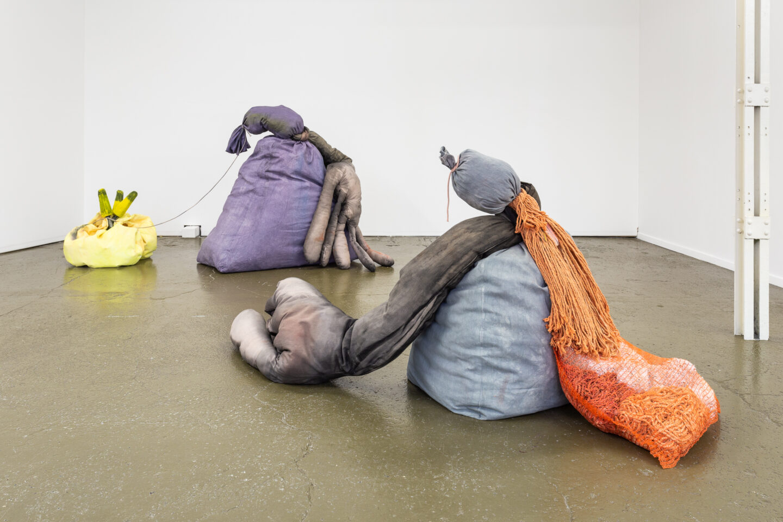 Exhibition View Groupshow «Sarah Margnetti & Megan Rooney ; view on Megan Rooney, Kaput Kaput, 2019» at Last Tango, Zurich / Photo: Kilian Bannwart / Courtesy: the artist and Last Tango