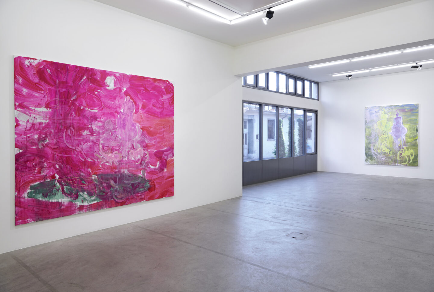 Exhibition View Rebekka Steiger Solshow «wild is the wind» at Galerie Urs Meile, Luzern / Courtesy: the artist and Galerie Urs Meile