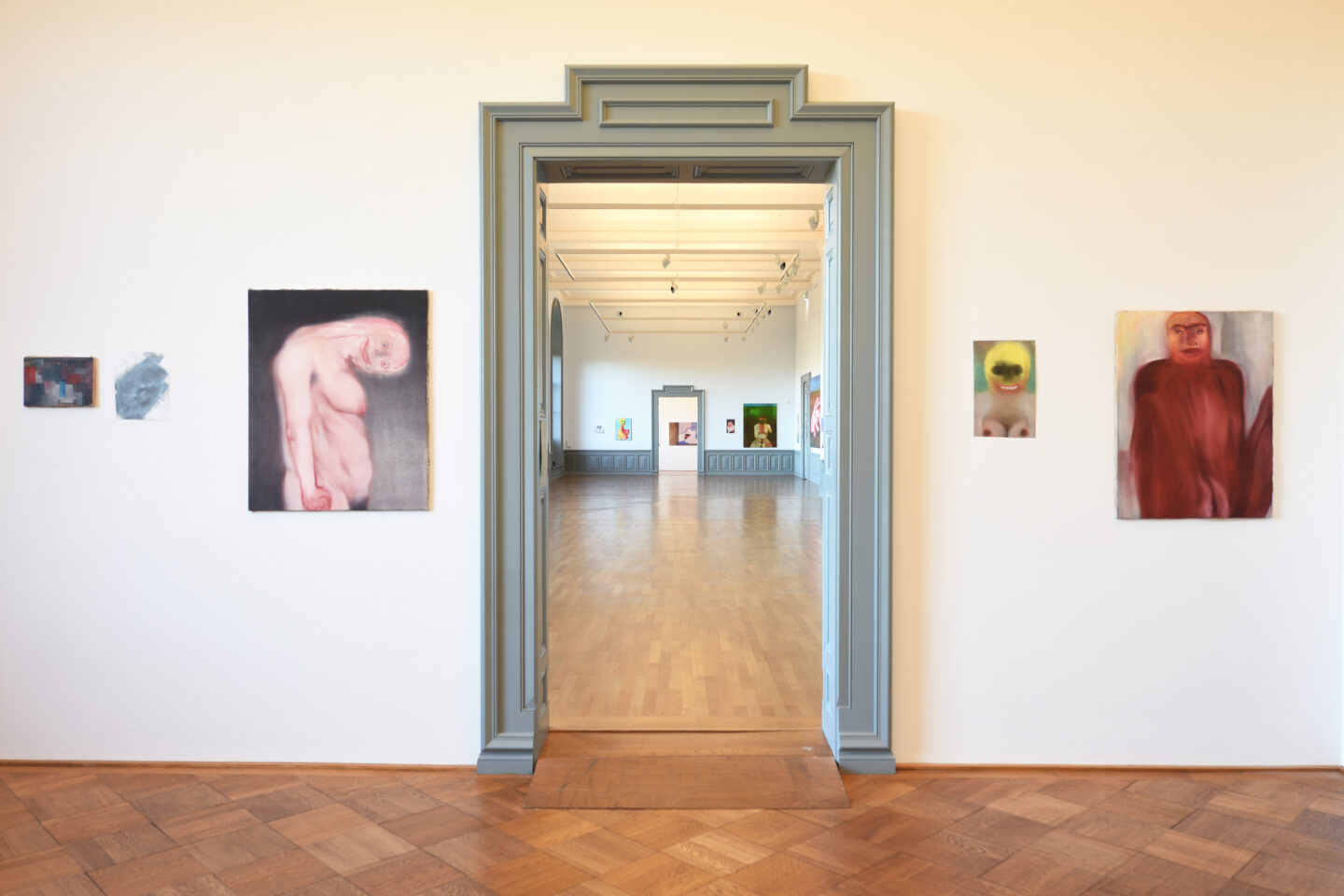 Exhibition View Miriam Cahn Soloshow «Exhibition View Miriam Cahn Soloshow «I AS HUMAN» at Kunstmuseum Bern, Bern / Courtesy: the artist / © Kunstmuseum Bern