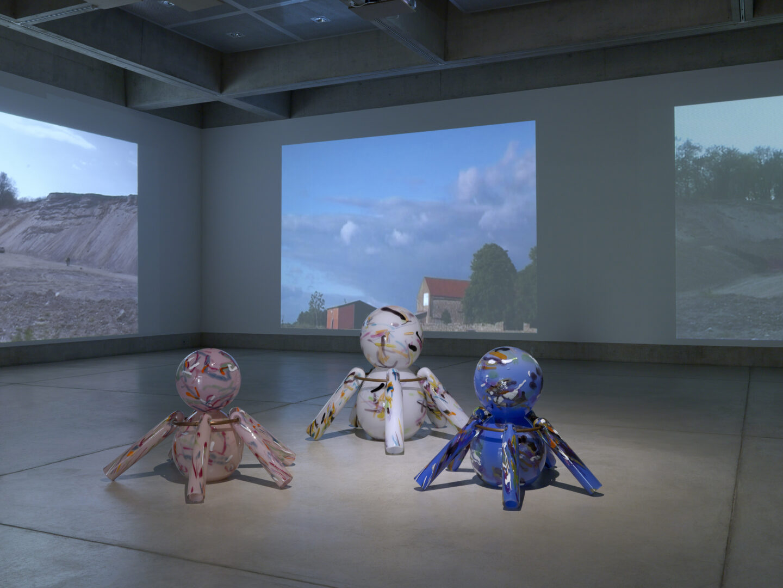 Exhibition View Denis Savary Soloshow «Houdin» at MBAC, La Chaux-de-Fonds, 2019 / Photo: Annik Wetter