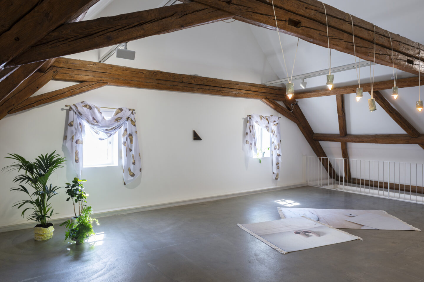 Installation View Clare Kenny «If I was a Rich Girl» at Kunstraum Riehen, Basel / Photo: Nici Jost / Courtesy: the artist