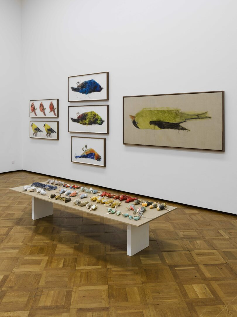 Exhibition View Ida Applebroog Soloshow at Kunstmuseum Thun, 2019, Thun / Photo: Dominique Uldry