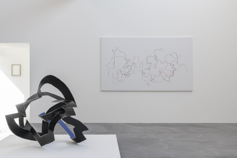 Exhibitioin View Marianne Eigenheer Soloshow at von Bartha, Basel, 2019 / Photo: Ben Köchlin / Courtesy: Marianne Eigenheer Estate and von Bartha