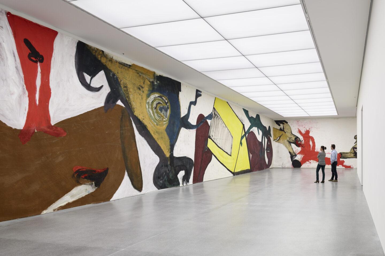 Exhibition View Martin Disler Soloshow «The Environment of Love» at Bündner Kunstmuseum, Chur, 2019 / Photo: Ralph Feiner ; Bündner Kunstmuseum Chur