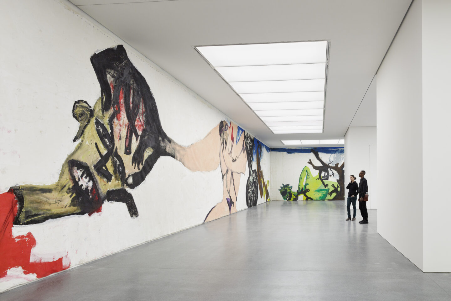 Exhibition View Martin Disler Soloshow «The Environment of Love» at Bündner Kunstmuseum, Chur, 2019 / Photo: Ralph Feiner ; Bündner Kunstmuseum Chur