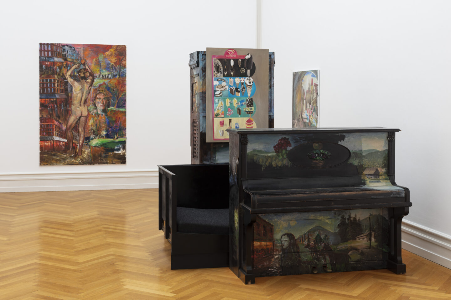 Exhibition View Amelie von Wulffen Soloshow at Kunsthalle Bern, Bern / Photo: Gunnar Meier / Courtesy: the artist