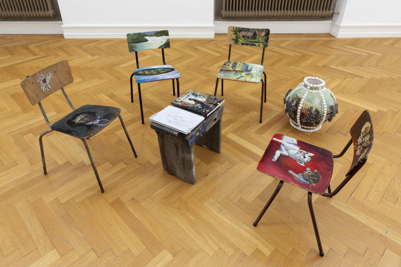 Exhibition View Amelie von Wulffen Soloshow at Kunsthalle Bern, Bern / Photo: Gunnar Meier / Courtesy: the artist