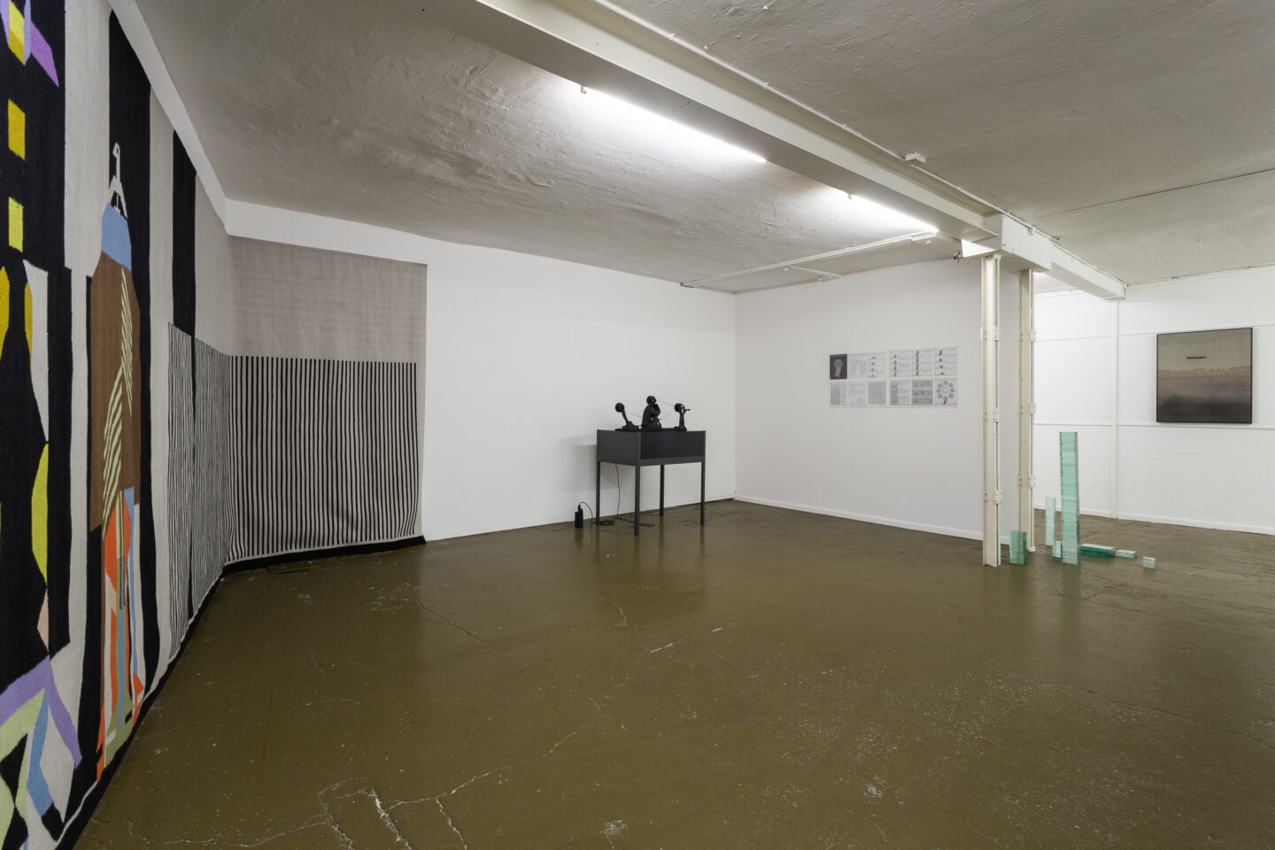 Exhibition View Groupshow «The Big Rip. Bounce, Chill or Crunch?» at Last Tango, Zurich, 2019 / Photo: Kilian Bannwart / Courtesy: the artist and Last Tango, Zurich