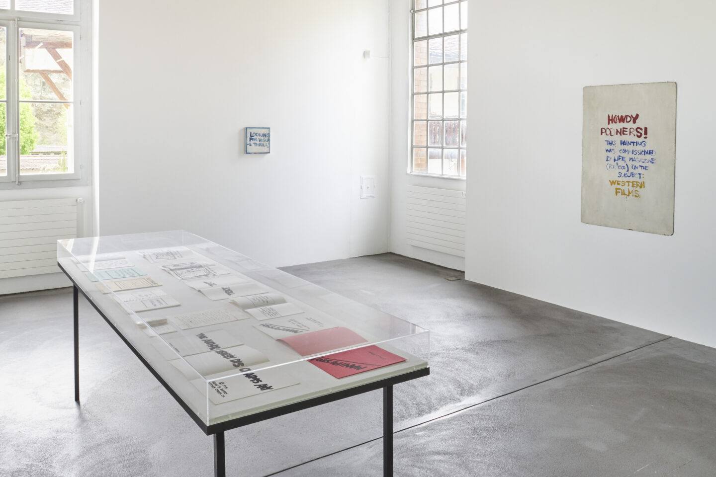 Exhibition View Gene Beery Retrospective at Fri-Art Kunsthale, Fribourg / Photo: Guillaume Baeriswyl / Courtesy: the artist