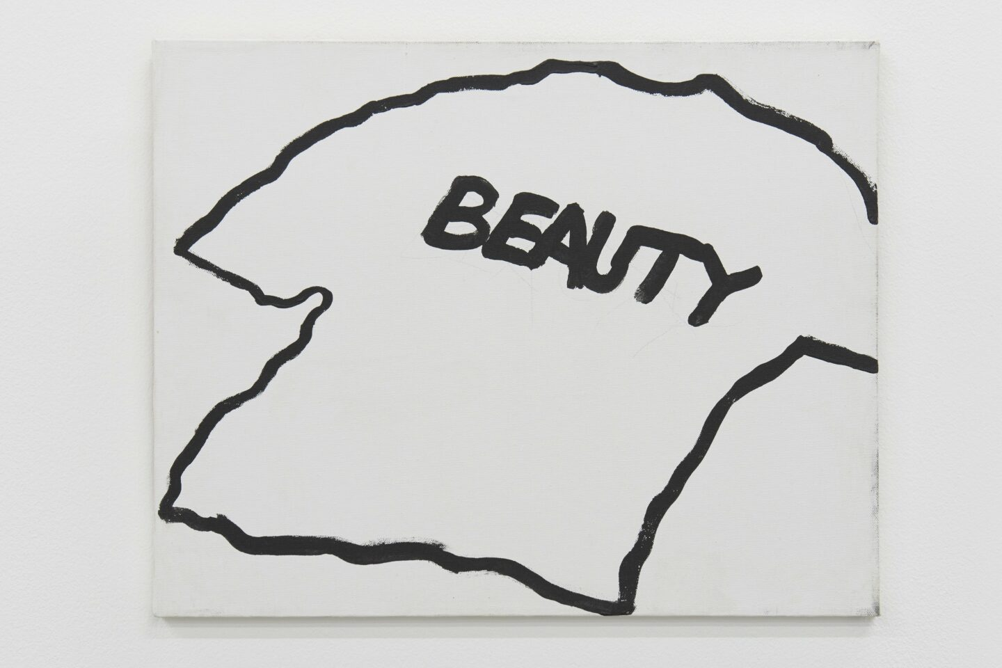 Exhibition View Gene Beery Retrospective «view on Beauty, c. 2000» at Fri-Art Kunsthale, Fribourg / Photo: Guillaume Baeriswyl / Courtesy: the artist and Greenspon, New York