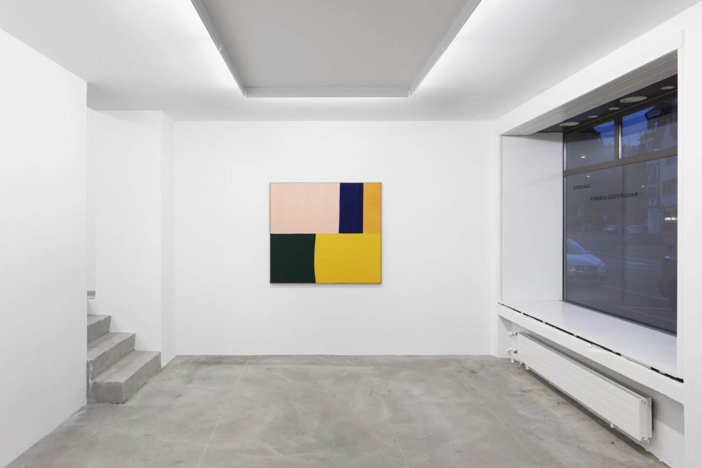 "Exhibition View Ethan Cook Soloshow ""Sets"" at GALERIE PHILIPPZOLLINGER, Zurich, 2019 / Photo: Photo: Conradin Frei / Courtesy the artist and GALERIE PHILIPPZOLLINGER"