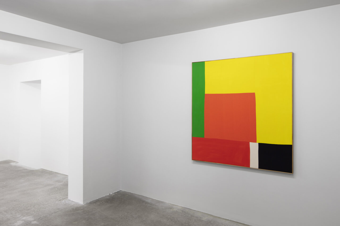 """Exhibition View Ethan Cook Soloshow """"Sets"""" at GALERIE PHILIPPZOLLINGER, Zurich, 2019 / Photo: Photo: Conradin Frei / Courtesy the artist and GALERIE PHILIPPZOLLINGER"""