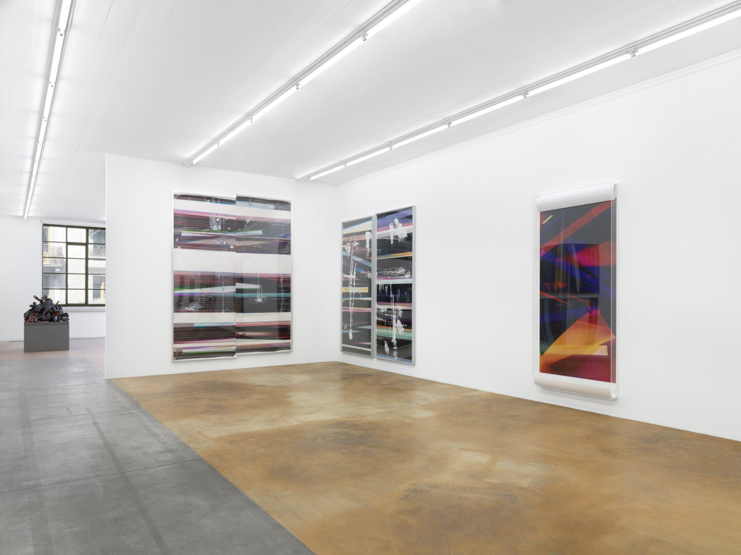 Exhibition View Walead Beshty Soloshow at MAMCO, Geneva / Photo: Annik Wetter / Courtesy: the artist
