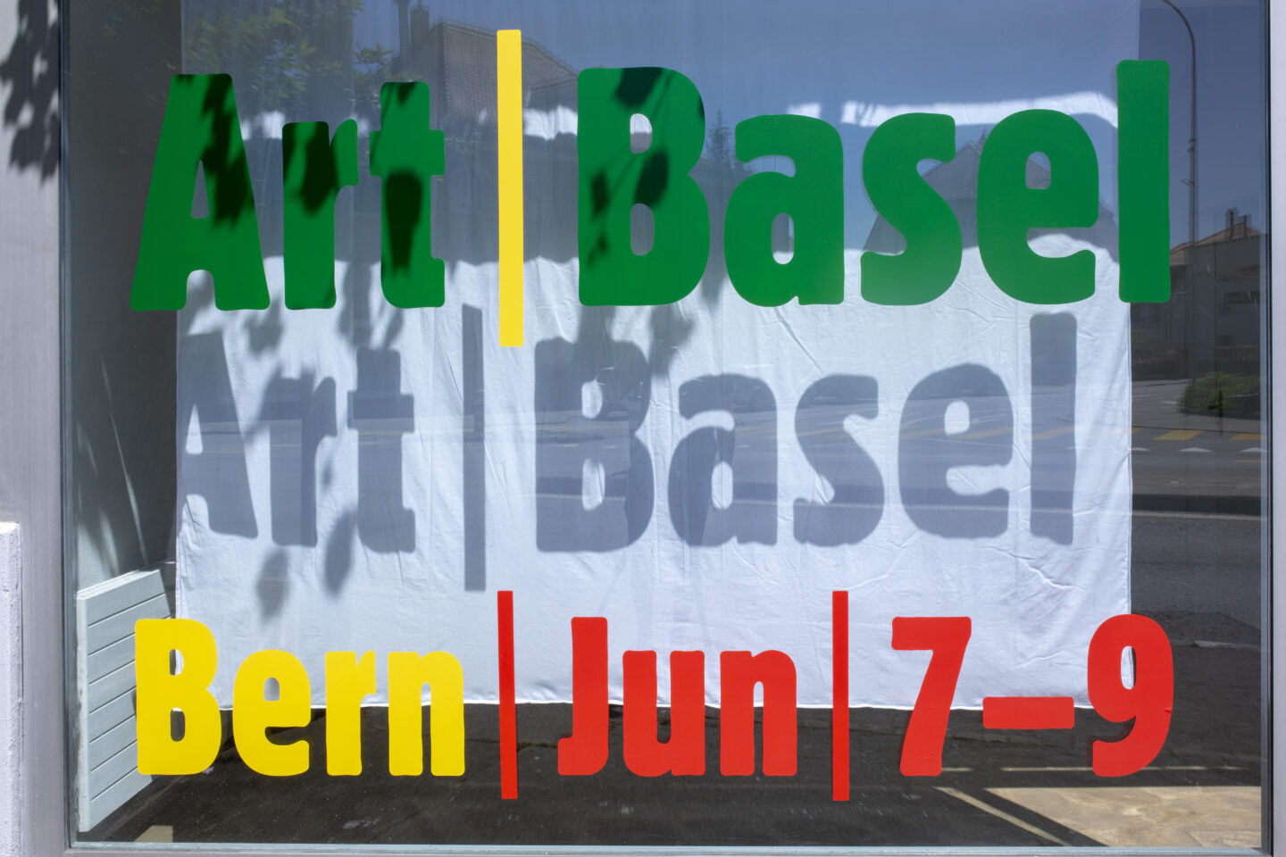 Exhibition View Groupshow «Art Basel Bern – Booth A1» at Ballostar Mobile, Bern, 2019 / Courtesy: the artist and Ballostar Mobile