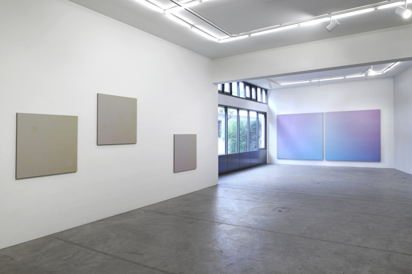 Exhibition View Zhang Xuerui Soloshow «The Everyday as Ontology» at Galerie Urs Meile, Lucerne / Courtesy: the artist and Galerie Urs Meile