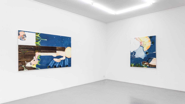 Exhibition View Magnus Plessen Soloshow at Mai 36, Zurich, 2019 / © Magnus Plessen / Courtesy: Mai 36 Galerie, Zurich