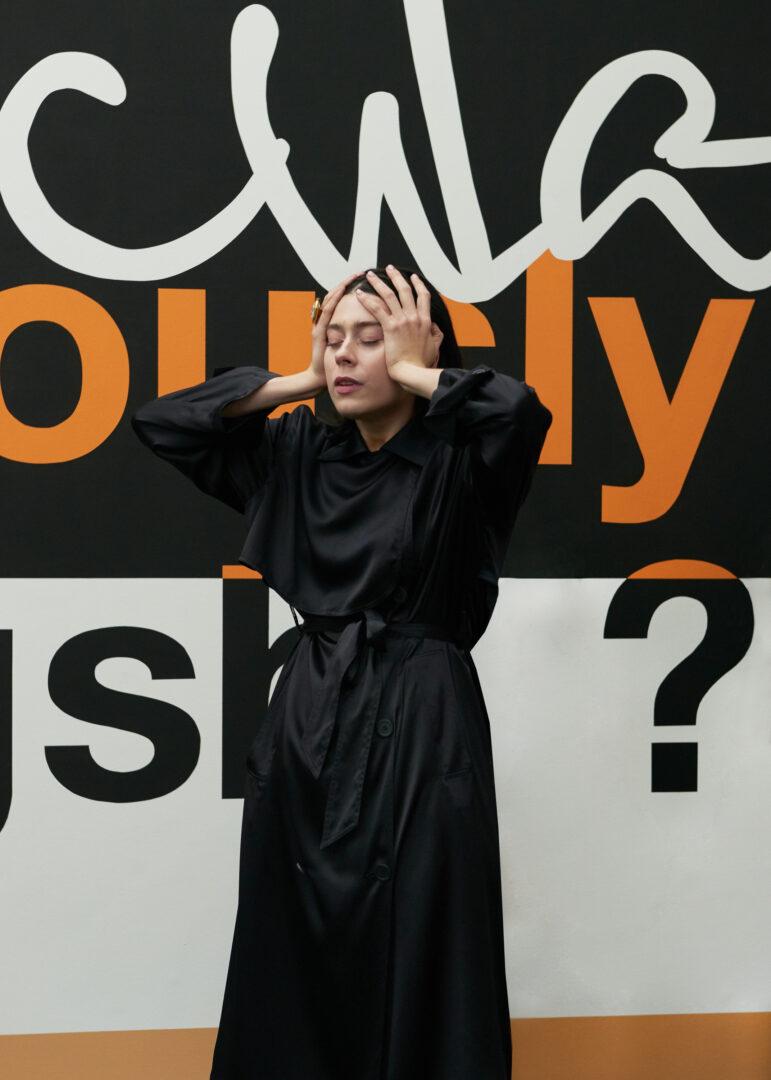 Exhibition View Nora Turato Soloshow «warp and woof» at Galerie Gregor Staiger, Zurich, 2019 / Photo: Sabina Bösch, Zurich / Courtesy: Courtesy: the artist, Galerie Gregor Staiger, Zurich & LambdaLambdaLambda, Prishtina