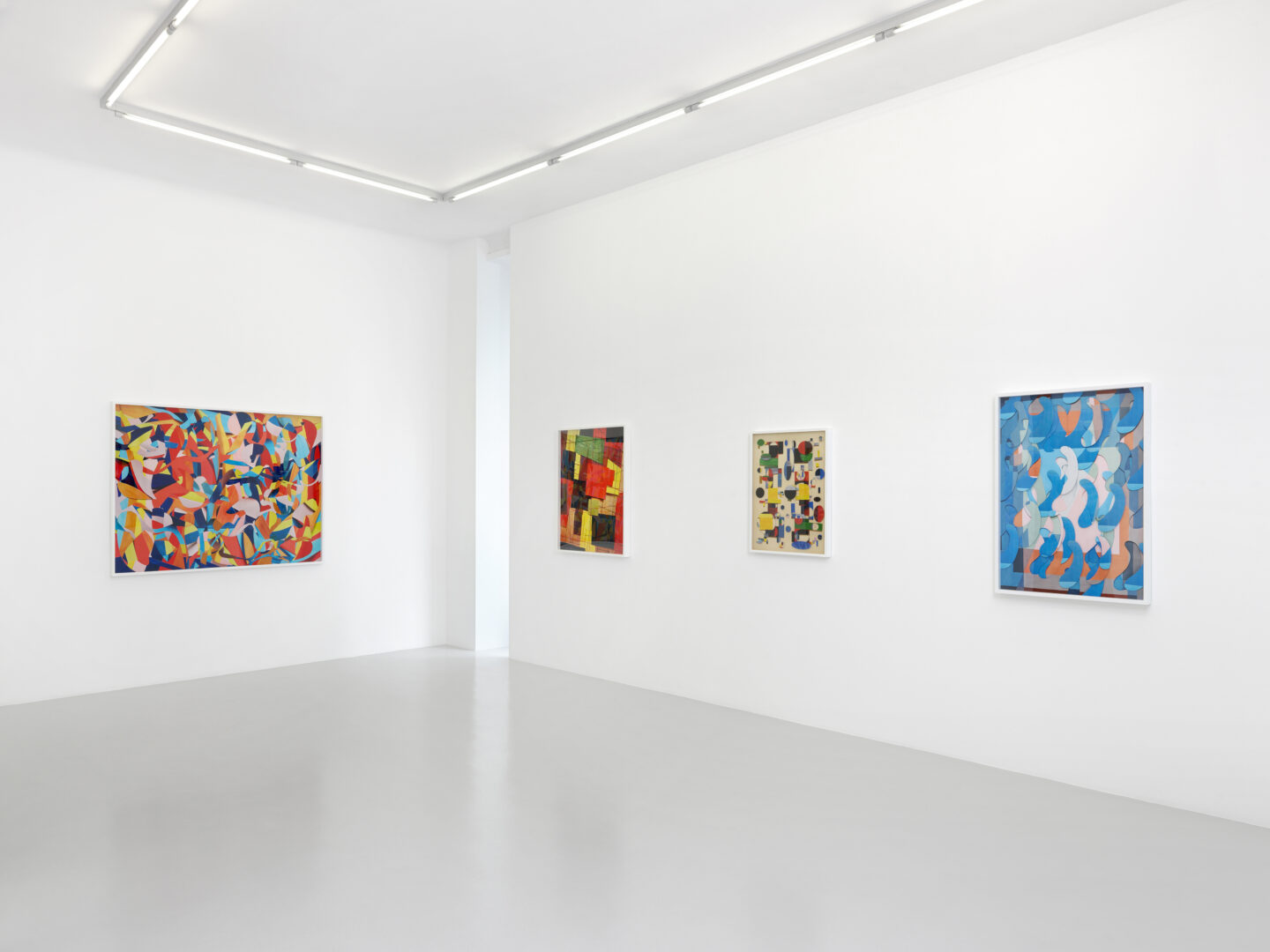 Exhibition View Vik Muniz Soloshow «Handmade» at Xippas, Geneva, 2019 / Photo: Annik Wetter / Courtesy: the artist and Xippas