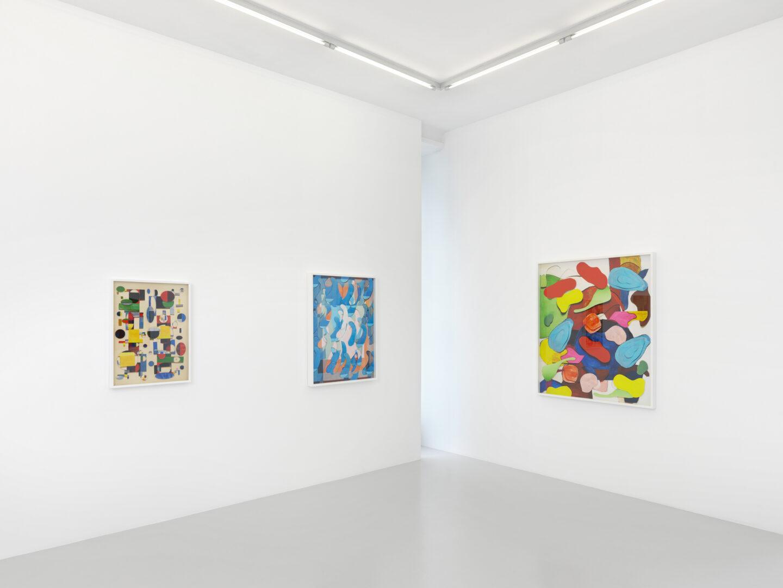 Exhibition View Vik Muniz Soloshow «Handmade» at Xippas, Geneva, 2019 / Photo: Annik Wetter / Courtesy: the artist and Xippas
