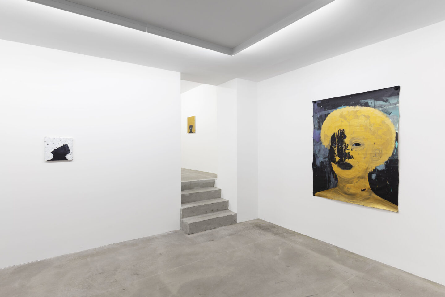 Exhibition View Wonder Buhle Mbambo Soloshow «To Find Me» at GALERIE PHILIPPZOLLINGER, Zurich, 2019 / Photo: Conradin Frei / Courtesy: the artist and Galerie Philipp Zollinger