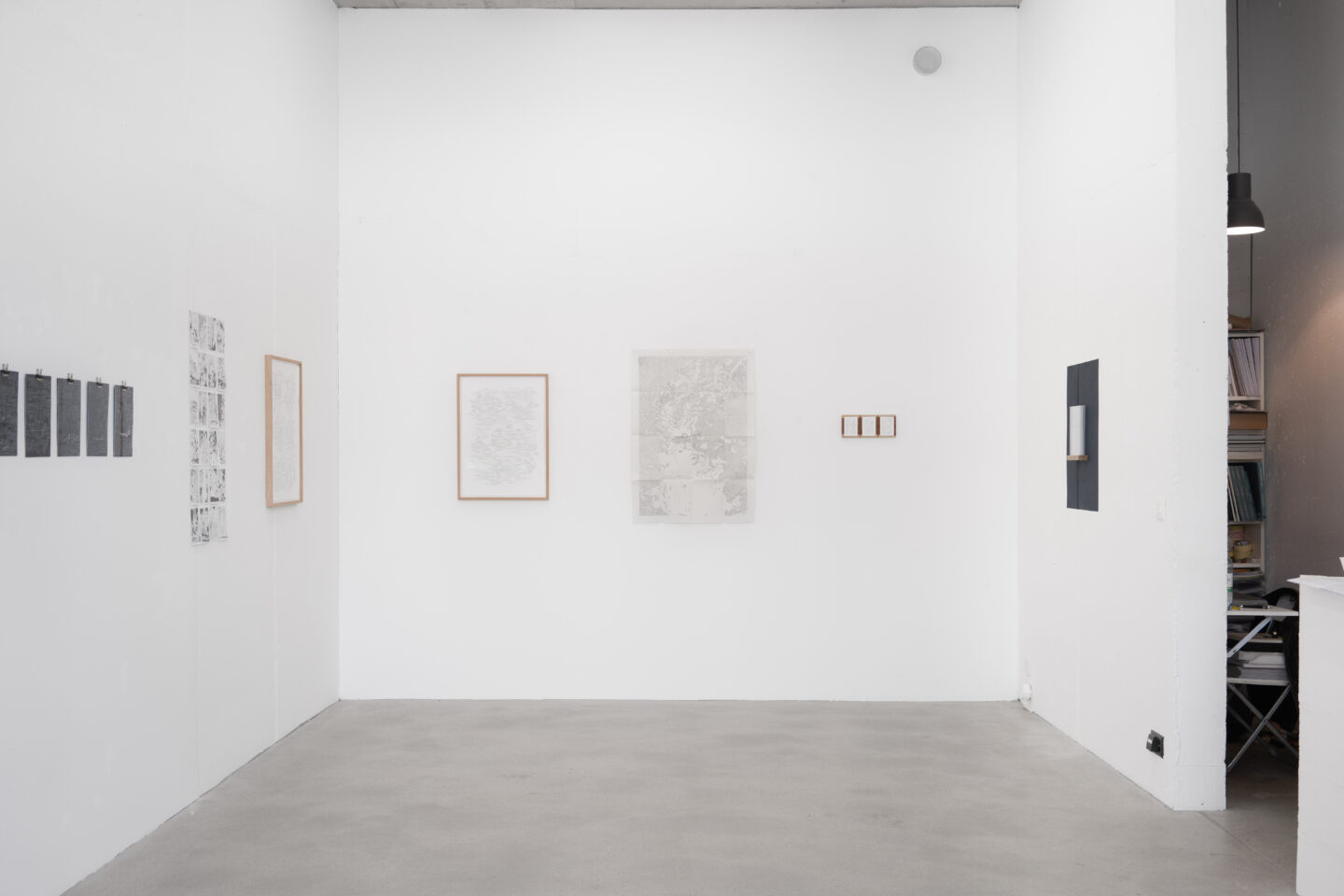 Exhibition View Nathalie Perrin Soloshow «The fragility of warm-blooded creatures» at Galerie Heinzer Reszler, Lausanne, 2019 / Courtesy: the artist and Heinzer Reszler