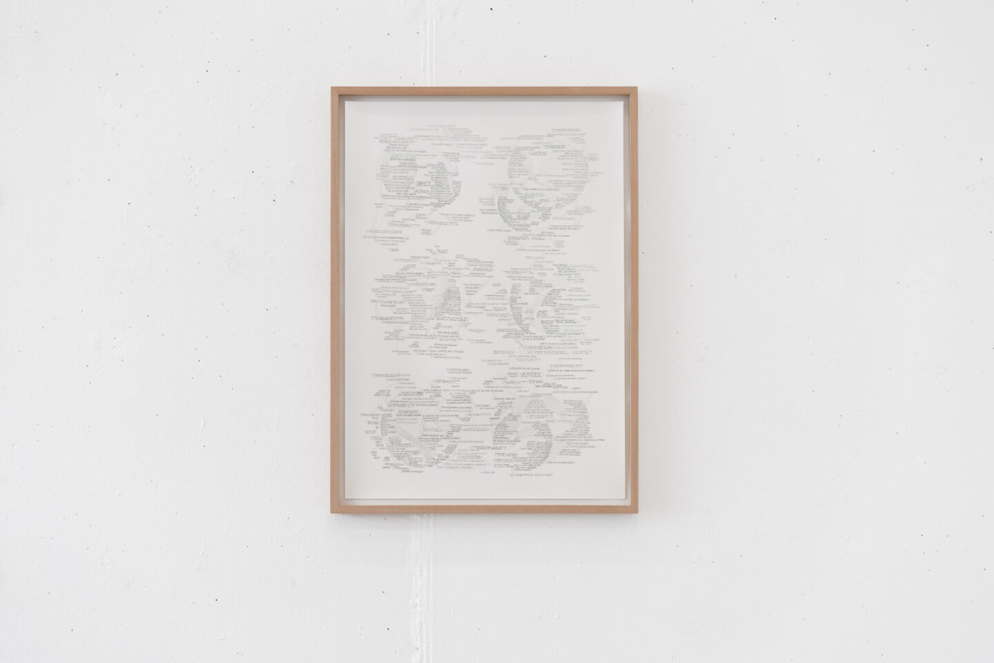 Exhibition View Nathalie Perrin Soloshow «The fragility of warm-blooded creatures; view on Long Play II, 2019» at Galerie Heinzer Reszler, Lausanne, 2019 / Courtesy: the artist and Heinzer Reszler