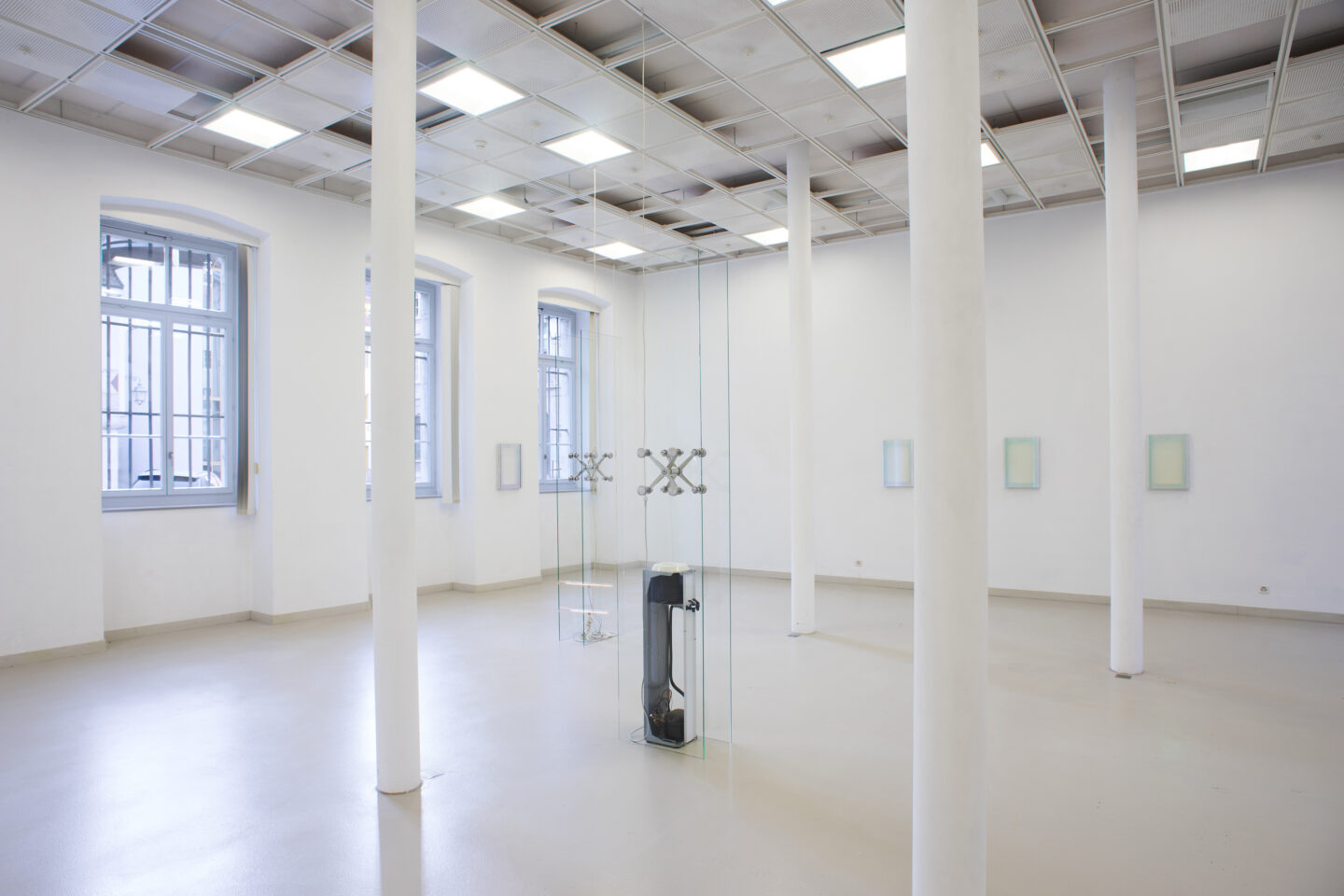 Exhibition View Manuel Burgener Soloshow «Disbelief» at EAC Les Halles, Porrentruy, 2019 / Courtesy: the artist and EAC Les Halles