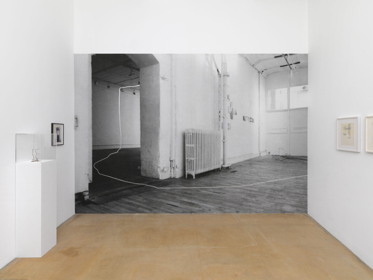 Exhibition View Rosemarie Castoro Soloshow «Time = space between appointment and meeting» at MAMCO, Geneva, 2019 / Photo: Annik Wetter / Courtesy: the artist and MAMCO