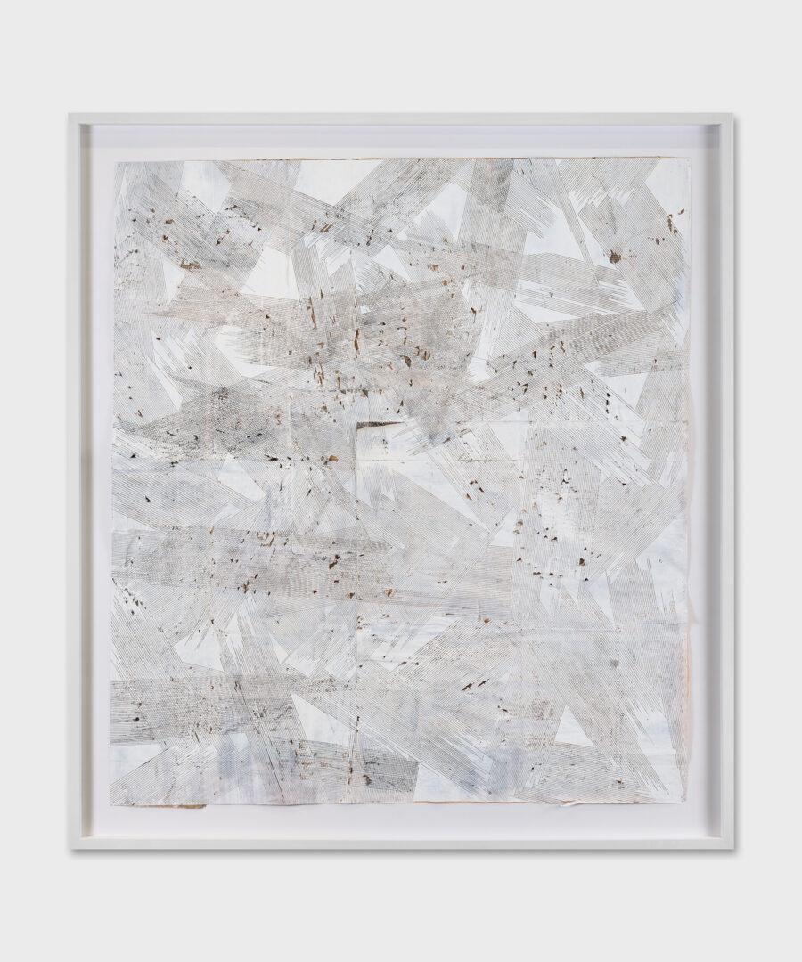 Exhibition View Sophie Bouvier Ausländer Soloshow «Words, Works, Worlds; view on What do you feel (The FT series), 2019» at Galerie Heinzer Reszler, Lausanne, 2019 / Photo: Julien Gremaud / Courtesy: the artist and Galerie Heinzer Reszler