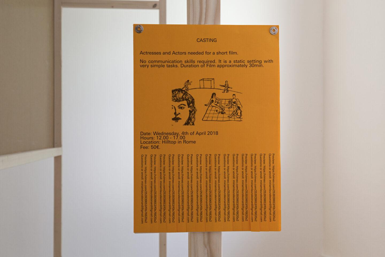 Exhibition View Groupshow «Cruise Kidman Kubrick; view on Miriam Laura Leonardi, Help in the Search !, 2018» at Galerie Maria Bernheim, Zurich, 2019 / Photo: Julien Gremaud / Courtesy: the artist and Galerie Maria Bernheim