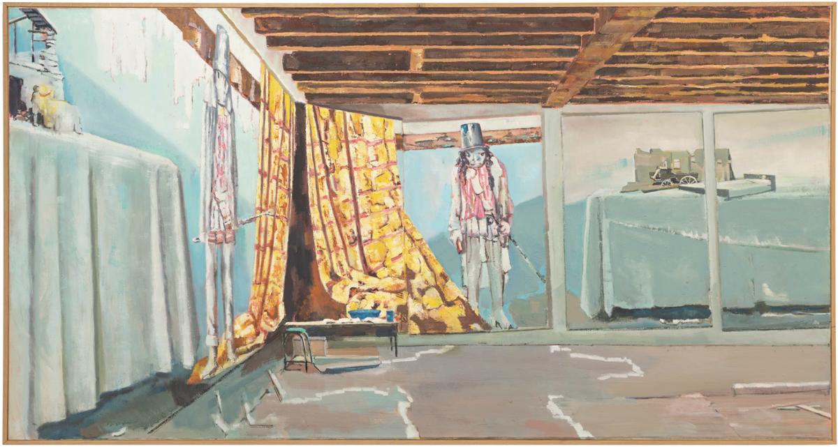 Exhibition View Marc-Antoine Fehr Soloshow «Les Adieux; view on Le Grenier, 2019» at Galerie Peter Kilchmann, Zurich, 2019 / Photo: Sebastian Schaub / Courtesy: the artist and Galerie Peter Kilchmann