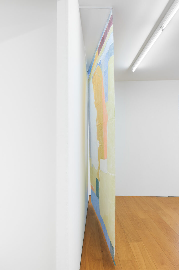 Exhibition View Sarah Lehnerer Soloshow «I could turn myself into it instead of away from it» at Kichgasse, Steckborn, 2019 / Photo: Alex Kern / Courtesy: the artist and Kichgasse