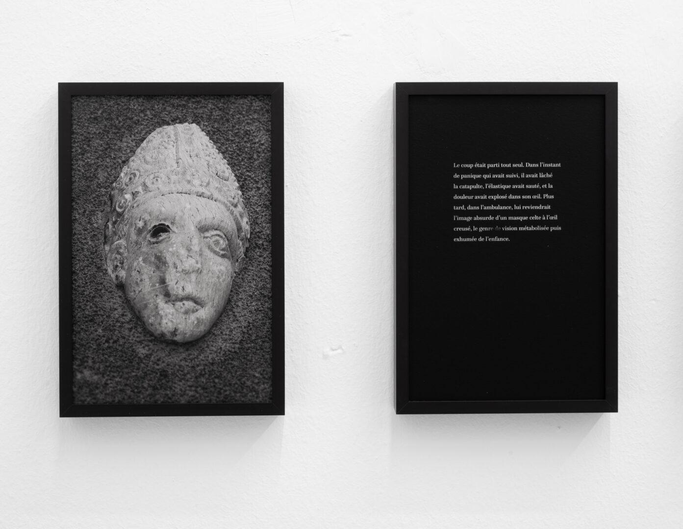 Exhibition View Rinny Gremaud and Mathieu Bernard Soloshow «Splendide; view on Loeil, 2019» at Galerie Heinzer Reszler, Lausanne, 2019 / Photo: Julien Gremaud / Courtesy: the artist and Heinzer Reszler