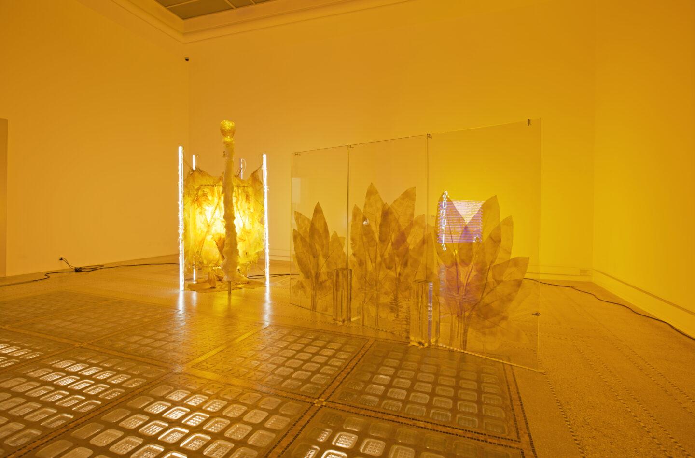 Exhibition View Chloé Delarue Soloshow «TAFAA - ACID RAVE» at MBAC, La Chaux-de-Fonds, 2019 / Photo: Florimond Dupont / Courtesy: the artist and MBAC