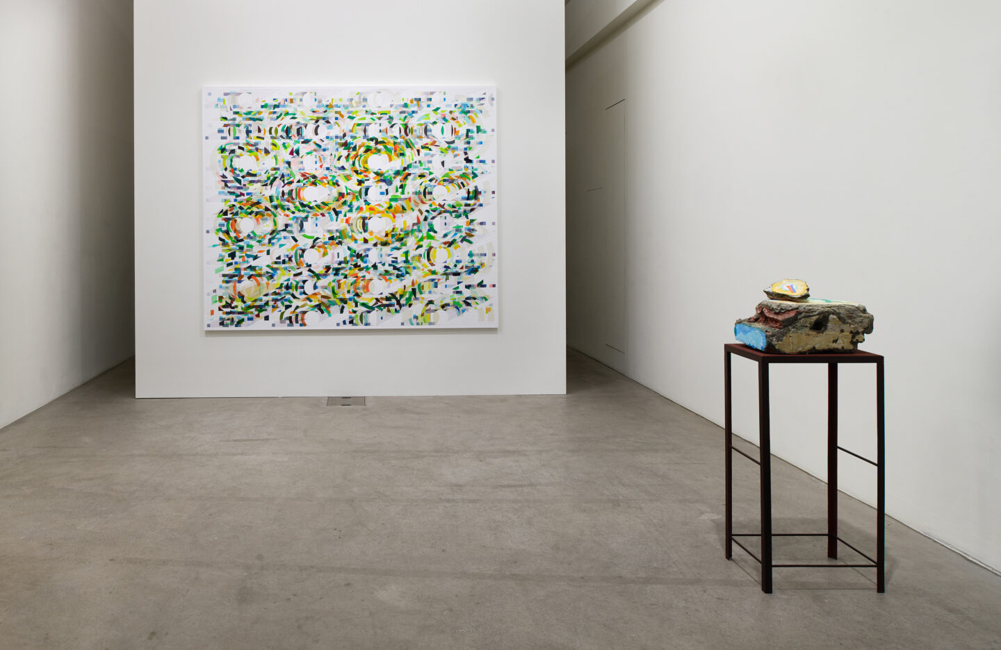 Exhibition View Tanya Goel Soloshow «Equations in a Variable» at Galerie Urs Meile, Luzern, 2019 / Courtesy: the artist and Galerie Urs Meile