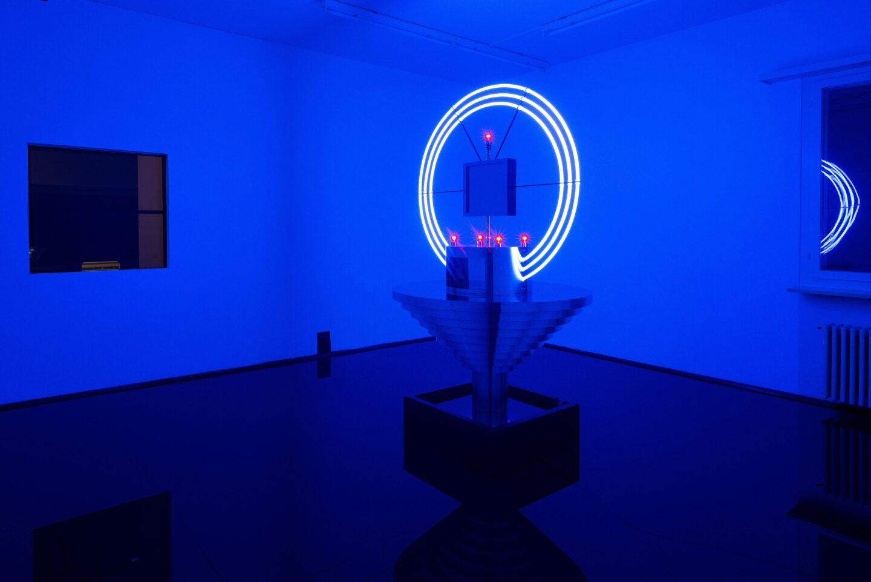 Exhibition View Daniele Milvio Soloshow «Die besten Jahre unseres Lebens» at Weiss Falk, Basel, 2019 / Photo: Flavio Karrer / Courtesy: the artist and Weiss Falk