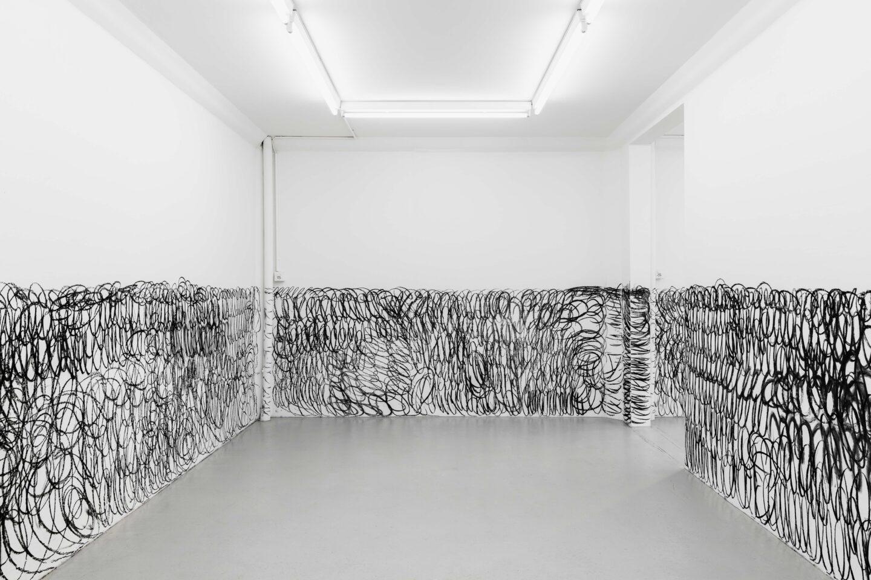Exhibition View Armen Eloyan Soloshow «ARMEN ELOYAN» at SALTS, Birsfelden, Basel, 2019 / Photo: Gunnar Meier / Courtesy: the artist and SALTS