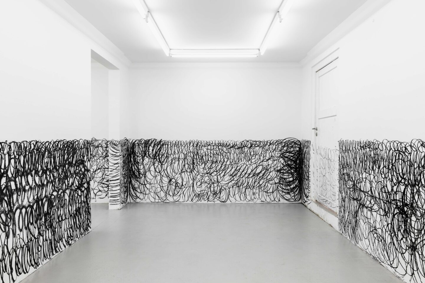 Exhibition View Armen Eloyan Soloshow «ARMEN ELOYAN» at SALTS, Birsfelden, Basel, 2019 / Photo: Gunnar Meier / Courtesy: the artist and SALTS