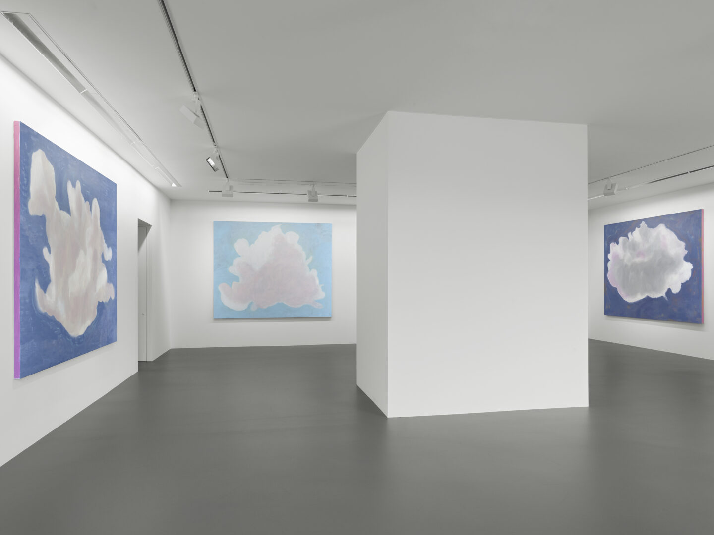 Exhibition View Francesco Clemente Soloshow «Clouds» at Vito Schnabel Gallery, St. Moritz, 2019 / © Francesco Clemente / Photo by Stefan Altenburger / Courtesy: the artist and Vito Schnabel Gallery