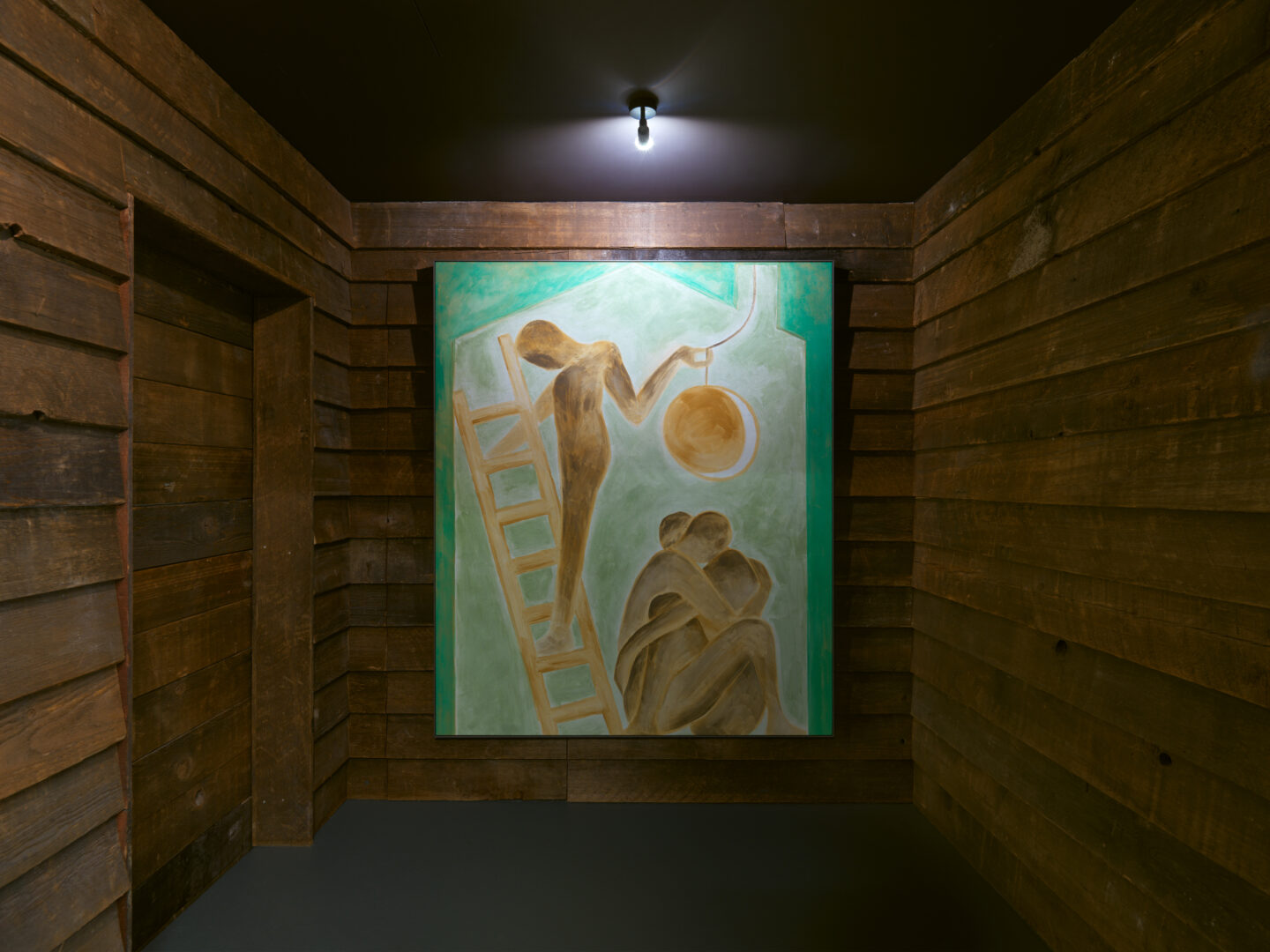 Exhibition View Francesco Clemente Soloshow «Clouds; view on Aspects of the Moon II, 2019» at Vito Schnabel Gallery, St. Moritz, 2019 / © Francesco Clemente / Photo by Stefan Altenburger / Courtesy: the artist and Vito Schnabel Gallery