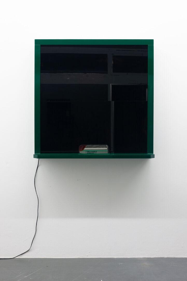 Exhibition View Daniele Milvio Soloshow «Die besten Jahre unseres Lebens; view on Vetreria Nuova Veleno, 2019» at Weiss Falk, Basel, 2019 / Photo: Flavio Karrer / Courtesy: the artist and Weiss Falk