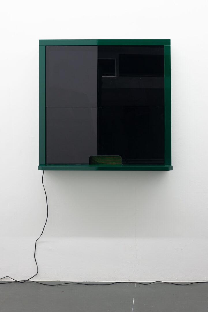 Exhibition View Daniele Milvio Soloshow «Die besten Jahre unseres Lebens; view on Niente Rastrelli, 2019» at Weiss Falk, Basel, 2019 / Photo: Flavio Karrer / Courtesy: the artist and Weiss Falk