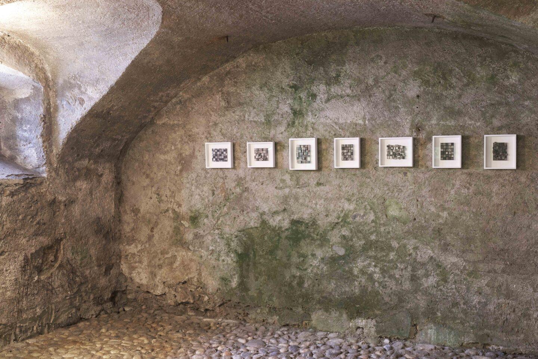 Exhibition View Kazuyo Okushiba Soloshow «Mu Ji Ga - No Ego» at Stalla Madulain, 2019 / Photo: Franz Rindlisbacher / Courtesy: the artist and Stalla Madulain