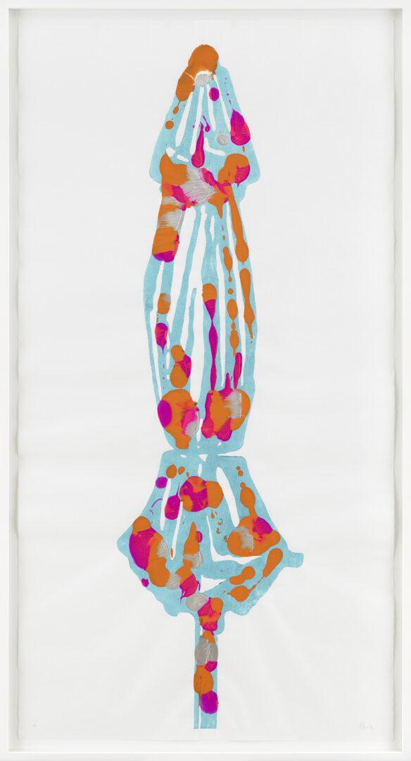 Exhibition View Groupshow «La metamorphose de l'art imprime; view on Denis Savary, Figueras, 2019 (Edition of 7 unique ones)» at VFO, Zurich, 2019 / Photo: Bernhard Strauss / Courtesy: the artist and VFO, Zurich