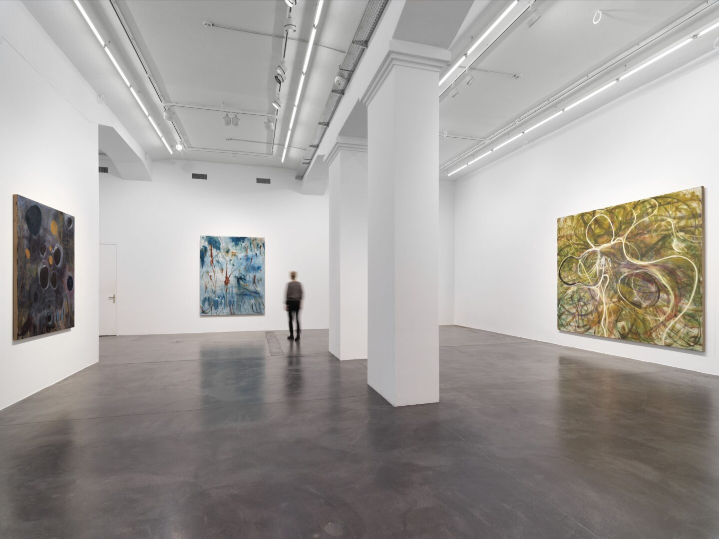 Exhibition View Zhang Enli Soloshow «New Paintings» at Hauser & Wirth, Zurich, 2020 / © Zhang Enli / Courtesy the artist and Hauser & Wirth