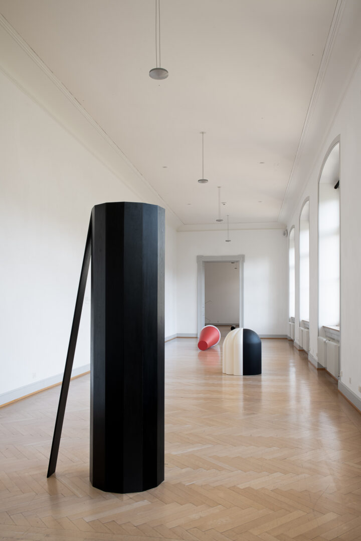 Exhibition View Iman Issa Soloshow «Surrogates» at Kunstmuseum St. Gallen, St. Gallen, 2019 / Photo: Sebastian Stadler