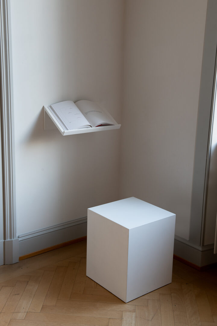 Exhibition View Iman Issa Soloshow «Surrogates; view on Book of Facts: A Proposition, 2017» at Kunstmuseum St. Gallen, St. Gallen, 2019 / Photo: Sebastian Stadler