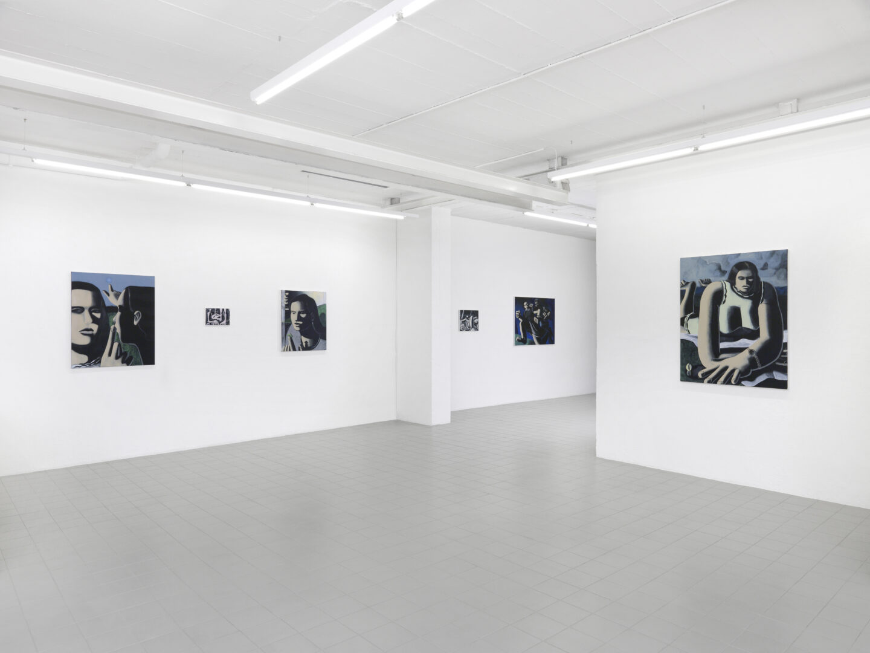 Exhibition View Aks Misyuta Soloshow «CONSTANT INSTANT» at Galerie Sébastien Bertrand, Geneva, 2020 / Photo: Annik Wetter / Courtesy: the artist and Galerie Sébastien Bertrand