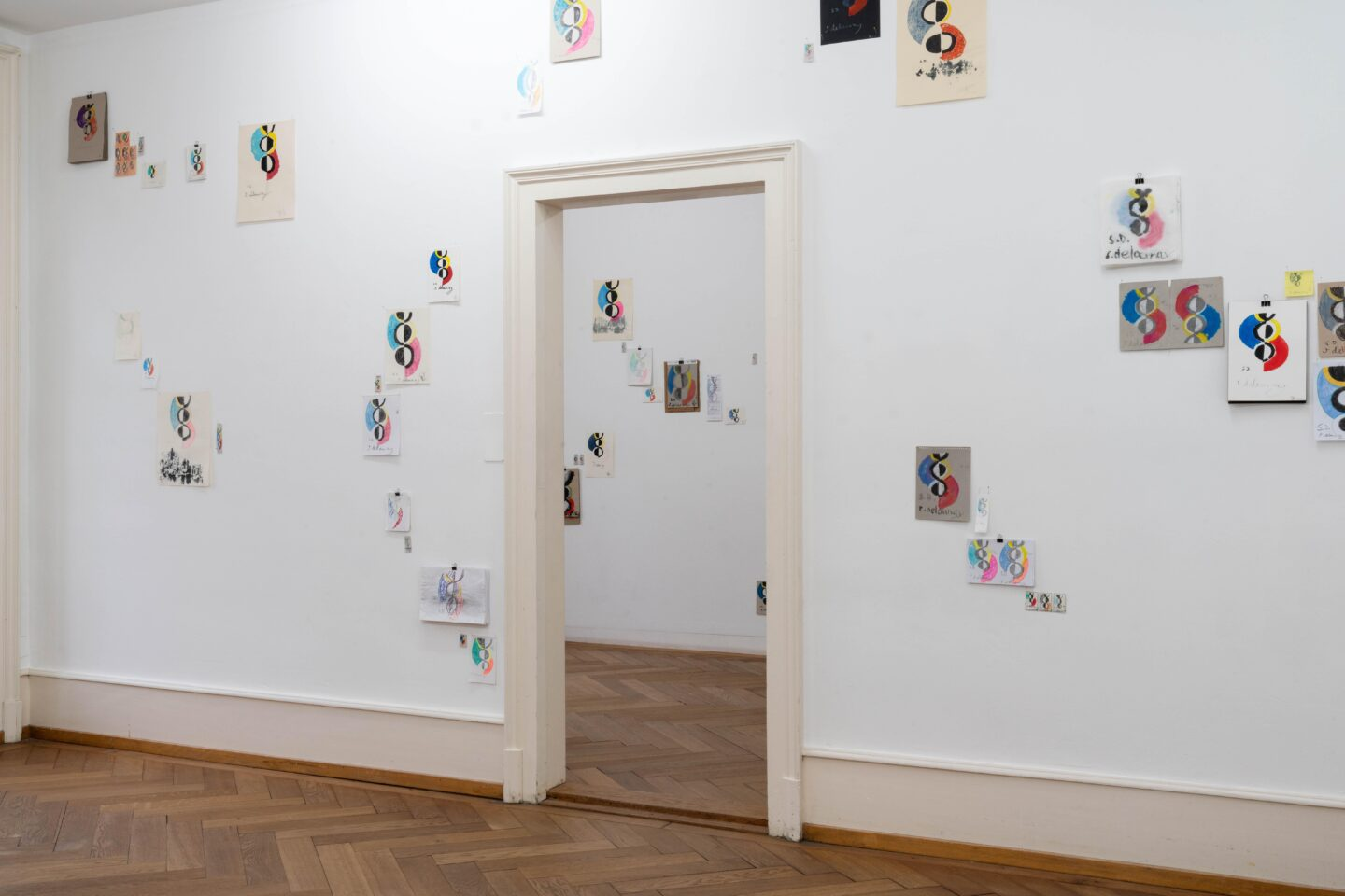 Exhibition View Céline Manz Soloshow «9 espaces distincts» at Kunsthaus Langenthal, Langenthal, 2020 / Photo: CE / Courtesy: the artist and Kunsthaus Langenthal