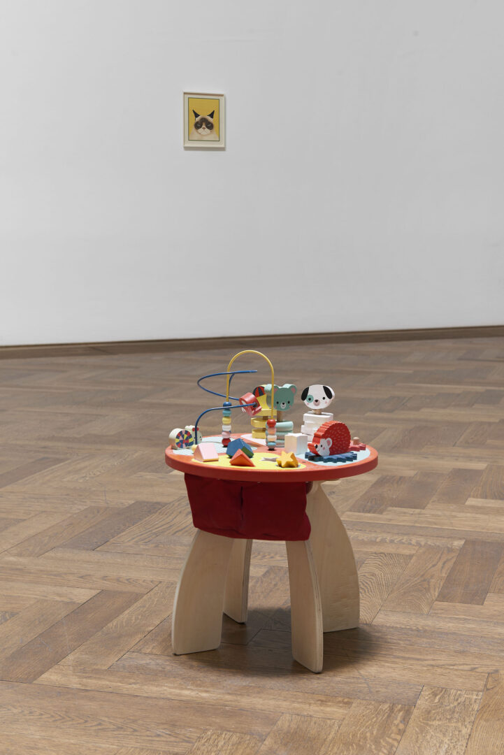 Exhibition View Camille Blatrix Soloshow «Standby Mice Station» at Kunthalle Basel, Basel, 2020 / Photo: Philipp Hänger / Courtesy: the artist; Galerie Balice Hertling, Paris, and Andrew Kreps Gallery, New York